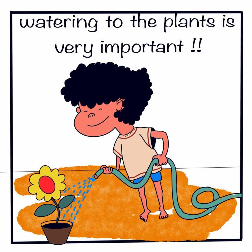 Importance of gardening for the children, importance of plants in the daily life of human life